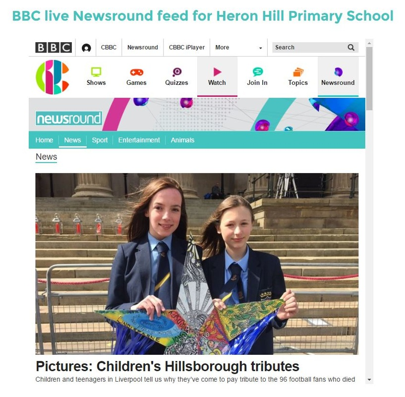 live news feeds for learning zones